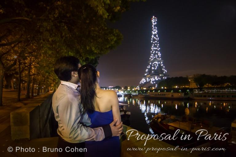 proposal spot in Paris