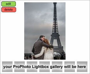 proposal in paris portrait hugging couple front of Eiffel Tower at sunset