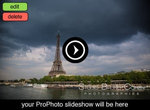 proposal in paris Eiffel Tower engagement session storm